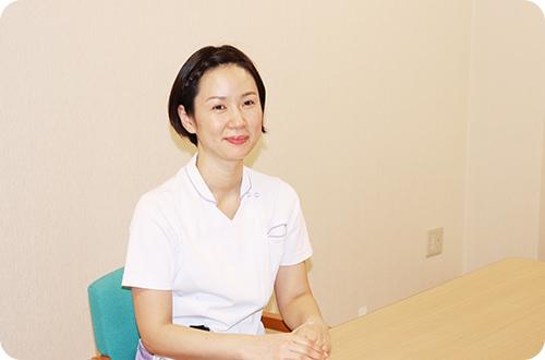 写真:看護師 上村